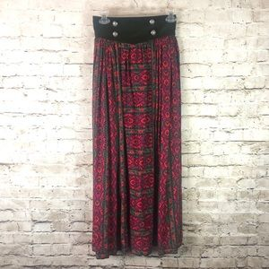 Vintage Miss O by Oscar de la Renta Long Skirt 4